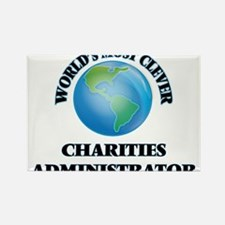 World's Most Clever Charities Administrato Magnets