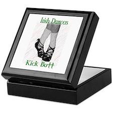 Irish Dancers Kick Butt Keepsake Box