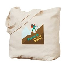 Peace & Quiet Tote Bag