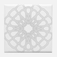 Winter Flake IV Tile Coaster