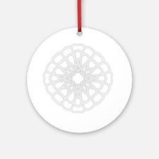 Winter Flake IV Ornament (Round)