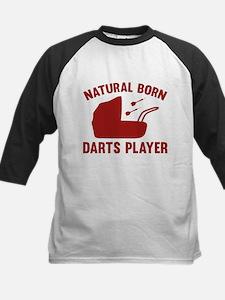 Natural Born Darts Player Tee