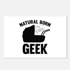 Natural Born Geek Postcards (Package of 8)