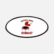 Natural Born Gymnast Patches