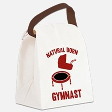 Natural Born Gymnast Canvas Lunch Bag