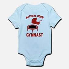 Natural Born Gymnast Onesie