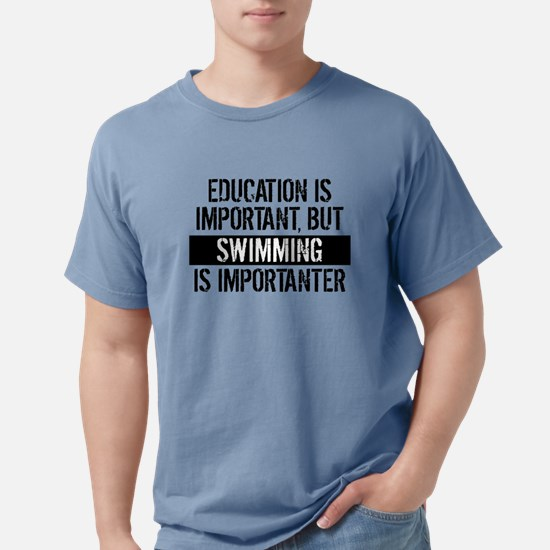 Swimming Is Importanter T-Shirt