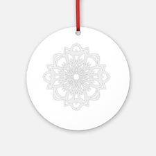 Winter Flake I Ornament (Round)