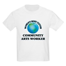 World's Most Clever Community Arts Worker T-Shirt