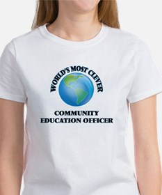 World's Most Clever Community Education Of T-Shirt