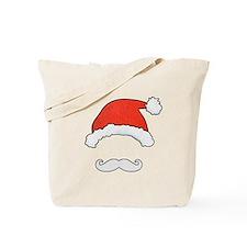 Santa Face Tote Bag