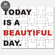 Today is a beautiful day Puzzle