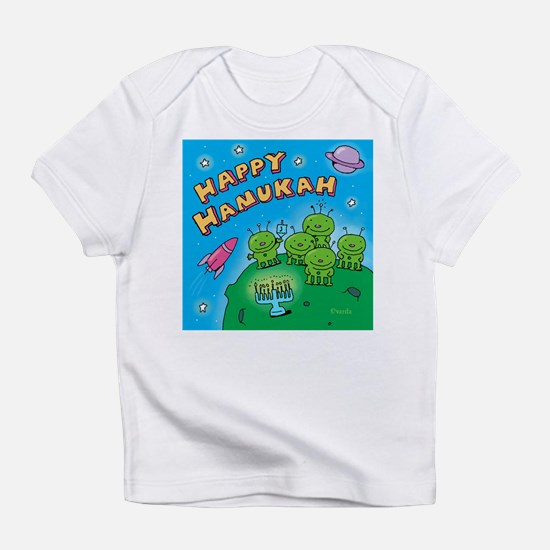 Hanukkah Aliens Infant T-Shirt