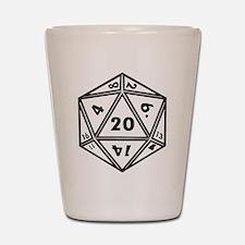 d20 Shot Glass