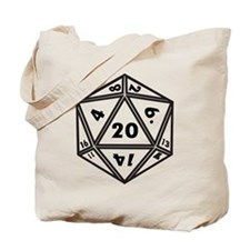 d20 Tote Bag