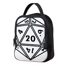 d20 Neoprene Lunch Bag