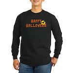 Happy Halloween Long Sleeve Dark T-Shirt