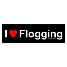 Flogging Bumper Sticker