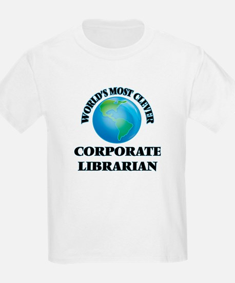 World's Most Clever Corporate Librarian T-Shirt