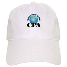 World's Most Clever Cpa Baseball Cap