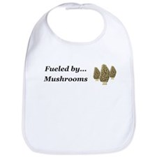 Fueled by Mushrooms Bib