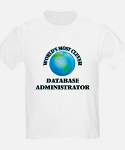 World's Most Clever Database Administrator T-Shirt