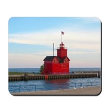 Holland Harbor Lighthouse Mousepad