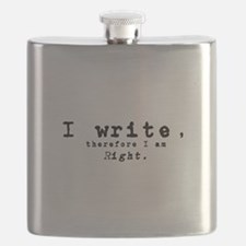 I write, therefore I am right Flask