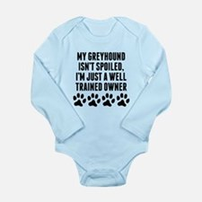 Well Trained Greyhound Owner Body Suit