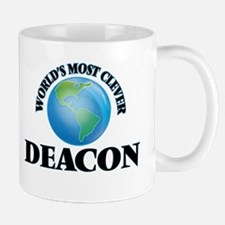 World's Most Clever Deacon Mugs
