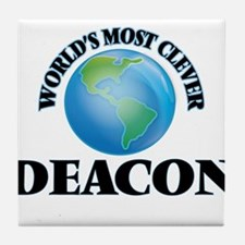 World's Most Clever Deacon Tile Coaster