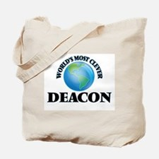 World's Most Clever Deacon Tote Bag