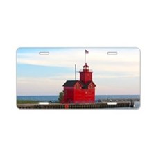 Holland Harbor Lighthouse Aluminum License Plate