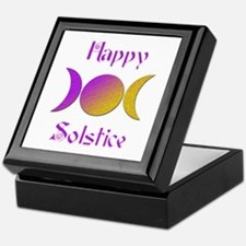 Happy Solstice 4 Keepsake Box
