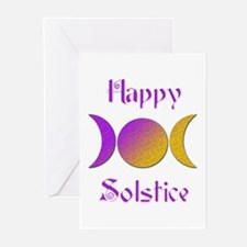 Happy Solstice 4 Greeting Cards (Pk of 10)