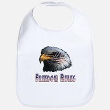 Freedom Rules Eagle Bib