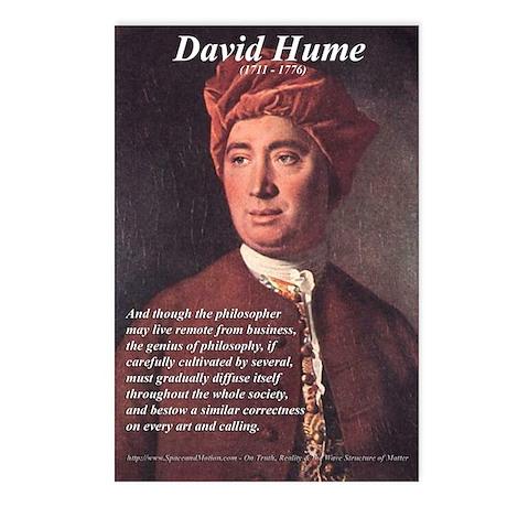 Philosophy: 8 Postcards: David Hume