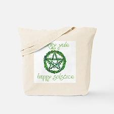 Merry Yule green 2 Tote Bag