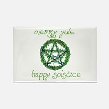 Merry Yule green 2 Rectangle Magnet