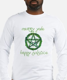 Merry Yule green 2 Long Sleeve T-Shirt