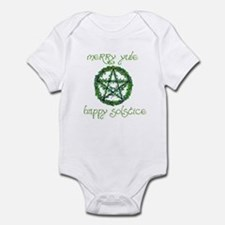 Merry Yule green 2 Infant Bodysuit