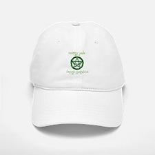 Merry Yule green 2 Baseball Baseball Cap