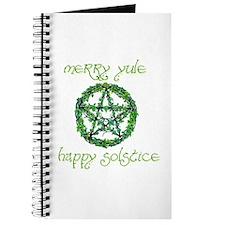 Merry Yule green 2 Journal