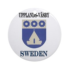 The Upplands Väsby Store Ornament (Round)