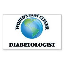 World's Most Clever Diabetologist Decal