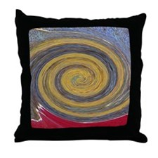 Colors of Rust / Rost-Art Throw Pillow