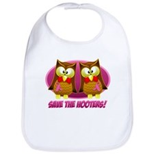 Breast Cancer Owl Bib