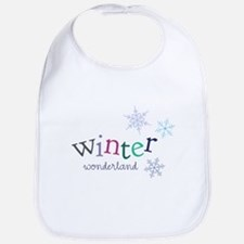Winter Wonderland Bib