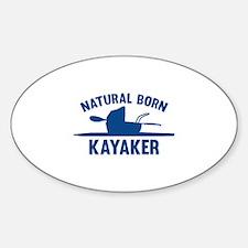 Natural Born Kayaker Decal