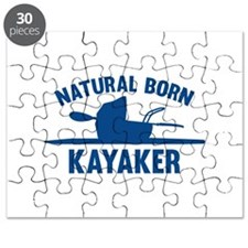 Natural Born Kayaker Puzzle